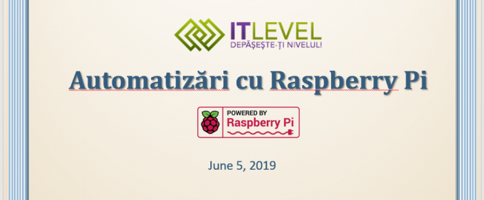 Automatizari cu Raspberry Pi